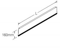 Плинтус H160 мм